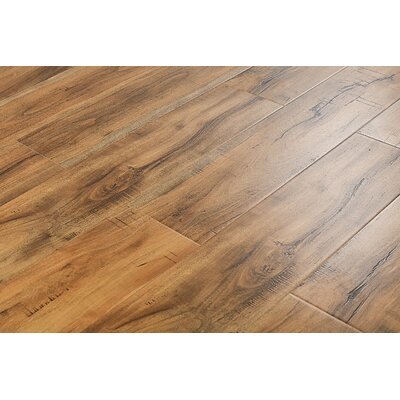 6 x 48 x 12mm Jatoba Laminate Flooring in Smokey Tan