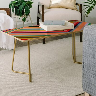 Stripes Rainbow Coffee Table