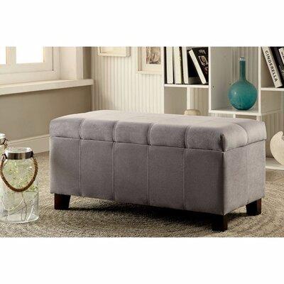 Kistler Storage Ottoman Upholstery: Gray