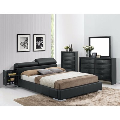 Grealish Queen Upholstered Platform Bed