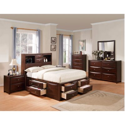 Andrescavage Storage Panel Bed Size: Queen