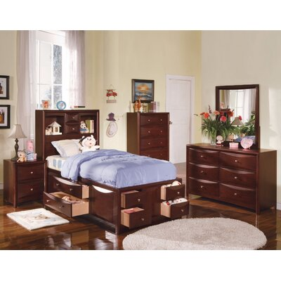 Andrescavage Storage Panel Bed Size: Twin