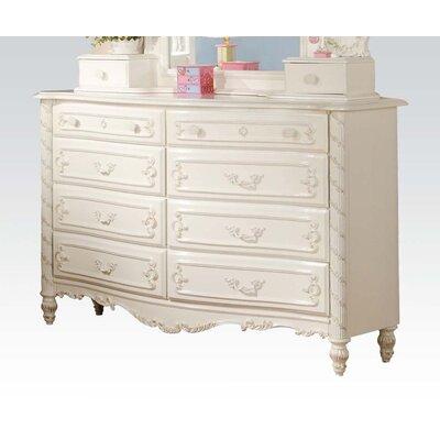 Fusaro 8 Drawer Double Dresser 11007A5E1015467DBD75542DA14296C8