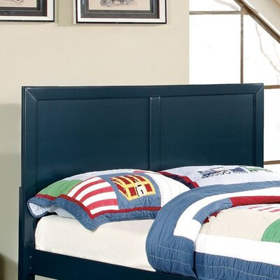 Haywards Heath Panel Headboard Size: Twin, Color: Blue