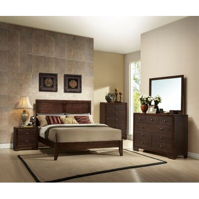 Trafecanty Queen Panel Bed