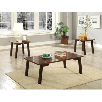 Lipkvich Wooden 3 Piece Coffee Table Set