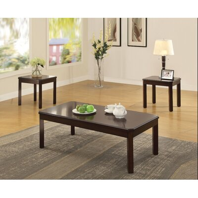 Kitson Wooden 3 Piece Coffee Table Set