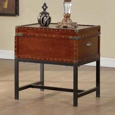 Lentini End Table with Storage