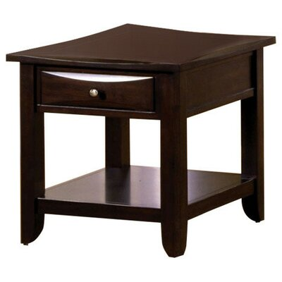 Strano End Table with Storage