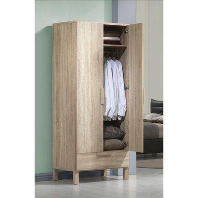 Petrovich Wooden Wardrobe Armoire