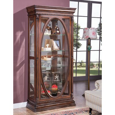 Gace Wooden Curio Cabinet