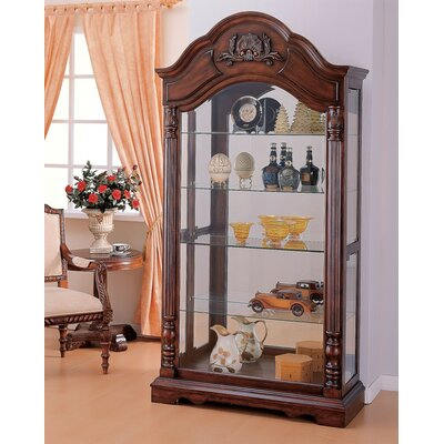 Okeefe Wooden Curio Cabinet