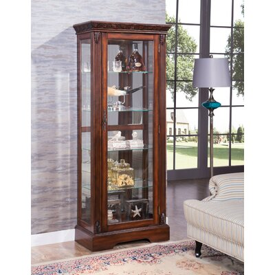 Omari Wooden Curio Cabinet