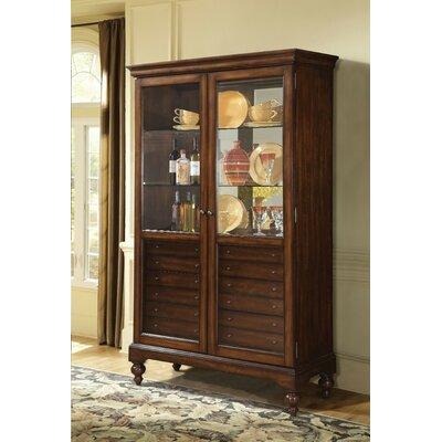 Robillard Wooden Curio Cabinet