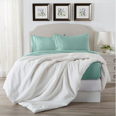 Konjoian Luxury Ultra Soft Rayon from Bamboo Pillowcase Color: Dusty Jade