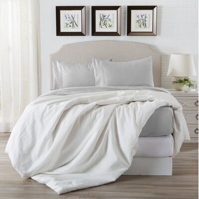 Eacuello Luxury Ultra Soft  Rayon from Bamboo Pillowcase Color: Glacier Gray