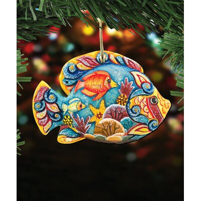 Tropical Fish Hanging Figurine 67DA211865D149E2B94B044344869B62