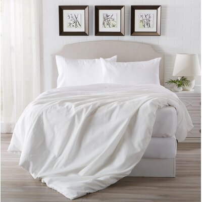 Eacuello Luxury Ultra Soft  Rayon from Bamboo Pillowcase Color: Optic White