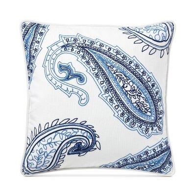 Nora Embroidery Cotton Throw Pillow