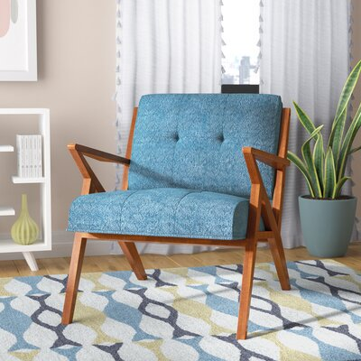 Alvarado Lounge Chair Upholstery: Blue