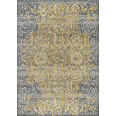 Chelsea Gray Area Rug Rug Size: Rectangle 4 x 6
