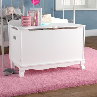 Matilda Toy Box Finish: White VVRO6350 34191379