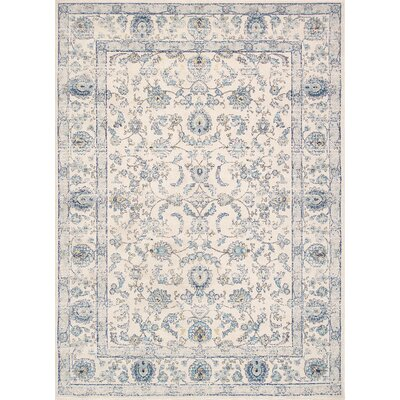 Chelsea Ivory Area Rug Rug Size: Rectangle 6 7 X 9 0