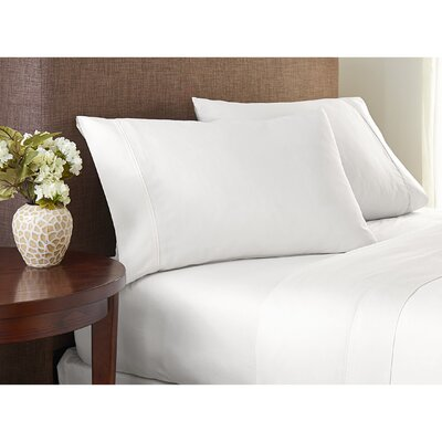 Scettrini Premium Luxury 1000 Thread Count Sheet Set Size: King, Color: Arctic White