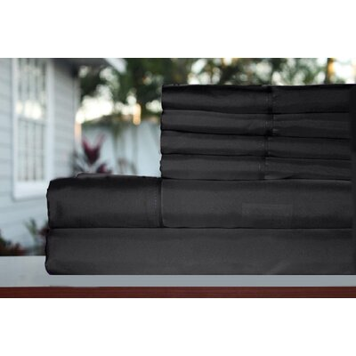 Premium 1800 Series 300 Thread Count Rayon from Bamboo Sheet Set Size: California King, Color: Gray
