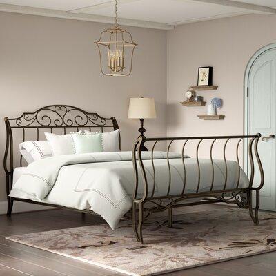 Croftshire Sleigh Bed Size: Queen
