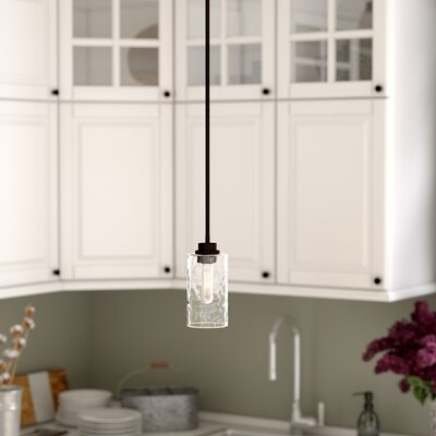 Westhope 1-Light Mini Pendant Finish: Old English Bronze