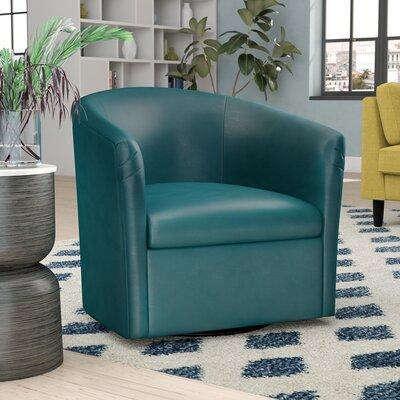 Garland Swivel Barrel Chair Finish: Agean