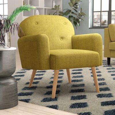 Hartford Armchair Upholstery: Green