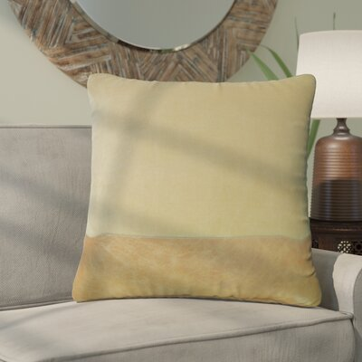 Wittig Throw Pillow Color: Taupe