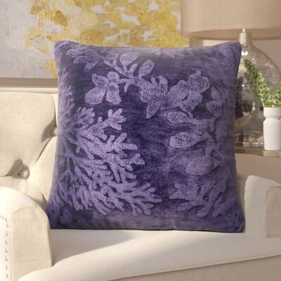 Nordin Throw Pillow Color: Blue/Berry