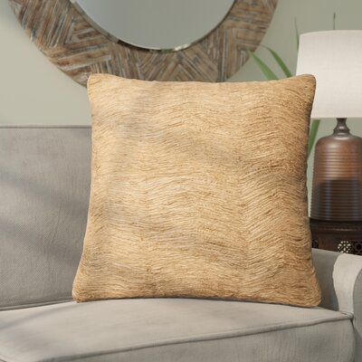 Yamasaki Throw Pillow Color: Gold