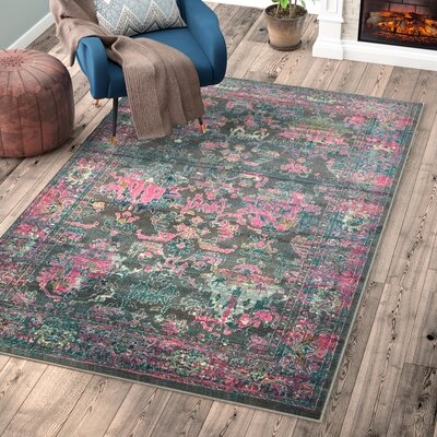 Charlena Area Rug Rug Size: Rectangle 2 x 3