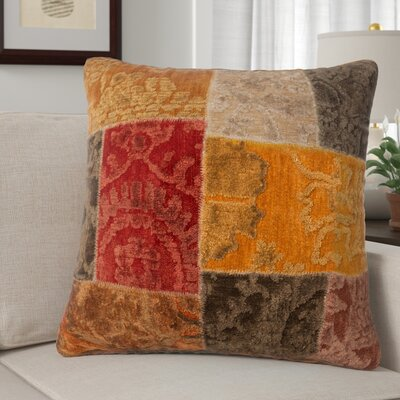 Claudie Throw Pillow Color: Moracco