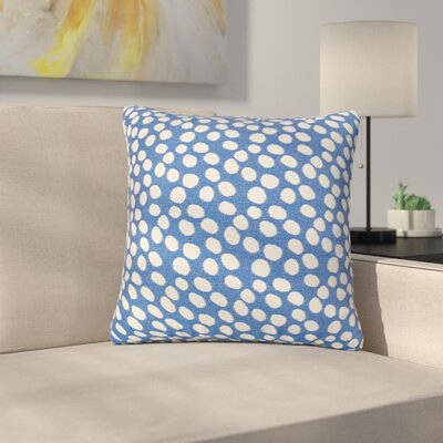 Look Indoor/Outdoor Throw Pillow Size: 17 H x 17 W x 4 D, Color: Royal
