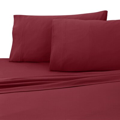 Jersey Sheet Set Size: Twin XL, Color: Red