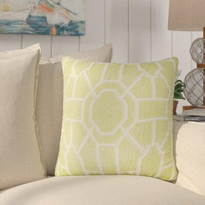 Daigre 100% Cotton Throw Pillow Color: Lime