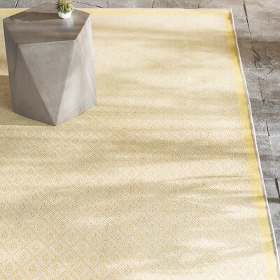 Shackelford Yellow Indoor/Outdoor Area Rug Rug Size: Runner 23 x 119