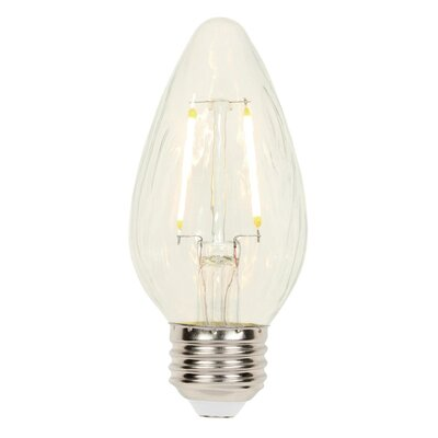 2.5W E26 Dimmable LED Candle Light Bulb