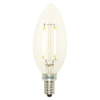 2.5W E12 Dimmable LED Candle Light Bulb