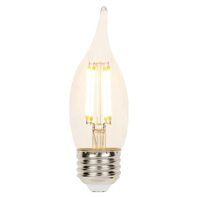 4W E26 Dimmable LED Candle Light Bulb