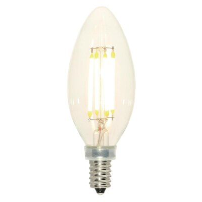 4W E12 Dimmable LED Candle Light Bulb