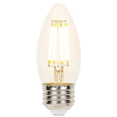 4.5W E26 Dimmable LED Candle Light Bulb