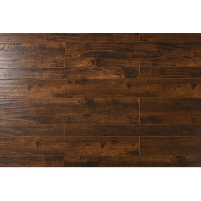 Old Mill 13 x 48 x 12mm Oak Laminate Flooring in Indo Cherry
