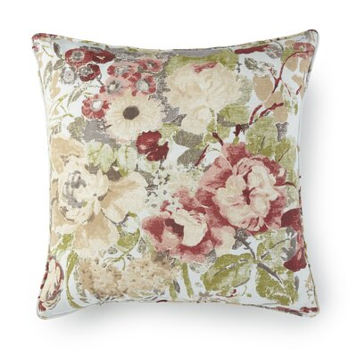 Lorraine Floral Throw Pillow