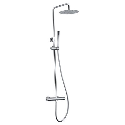 Pippa Thermostatic Dual Head Complete Shower System 8011-00-10